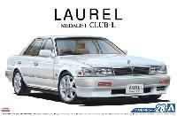 アオシマ1/24 ザ・モデルカーニッサン HC33 ローレル メダリスト CLUB・L '91