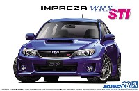 アオシマ1/24 ザ・モデルカースバル GRB インプレッサ WRX STI '10