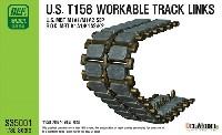 アメリカ T158 連結可動履帯