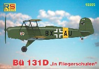 RSモデル1/72 エアクラフト プラモデルビュッカー Bu131D 飛行教導隊
