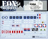 フォックスモデル (FOX MODELS)AFVデカールM10 駆逐戦車 中期型 デカールセット (2)