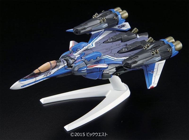 VF-31J スーパージークフリード ファイターモード (ハヤテ・インメルマン機)プラモデル(バンダイメカコレクション マクロスNo.011)商品画像_1