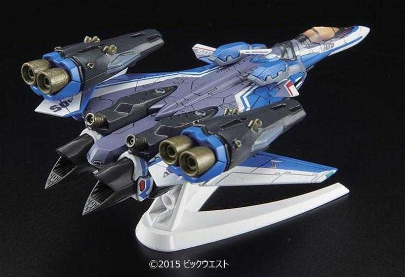 VF-31J スーパージークフリード ファイターモード (ハヤテ・インメルマン機)プラモデル(バンダイメカコレクション マクロスNo.011)商品画像_2