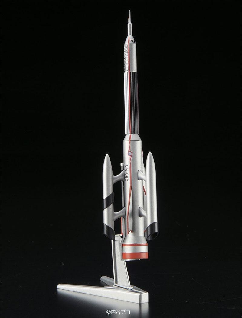 ウルトラ警備隊 ウルトラホーク 2号プラモデル(バンダイメカコレクション ウルトラマンNo.008)商品画像_2