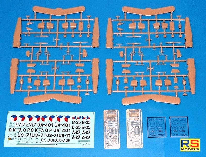 C-4 & C-104 練習機プラモデル(RSモデル1/72 エアクラフト プラモデルNo.92204)商品画像_2