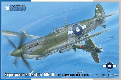 スーパーマリン シーファイア Mk.3 太平洋戦プラモデル(スペシャルホビー1/48 エアクラフト プラモデルNo.SH48052)商品画像