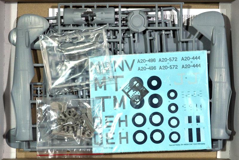 CAC CA-9 ワイラウェイプラモデル(スペシャルホビー1/48 エアクラフト プラモデルNo.SH48054)商品画像_1
