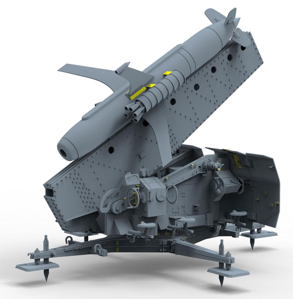 ドイツ ライントホター R-3p 地対空ミサイル発射機プラモデル(ブロンコモデル1/35 AFVモデルNo.CB35075)商品画像_3