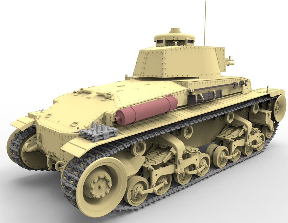 チェコ シュコダ LTVz35 軽戦車 & ルーマニア R2 戦車 (2in1)プラモデル(ブロンコモデル1/35 AFVモデルNo.CB35105)商品画像_3