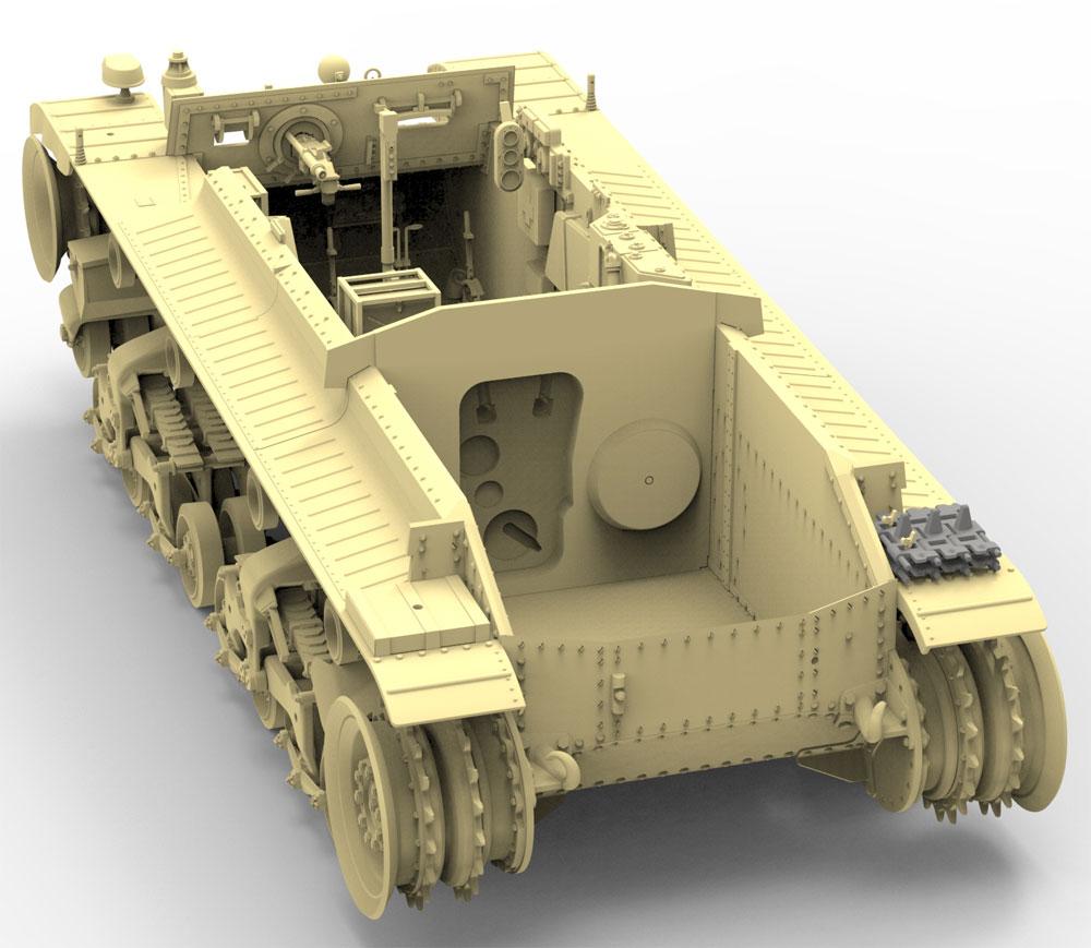 チェコ シュコダ LTVz35 軽戦車 & ルーマニア R2 戦車 (2in1)プラモデル(ブロンコモデル1/35 AFVモデルNo.CB35105)商品画像_4