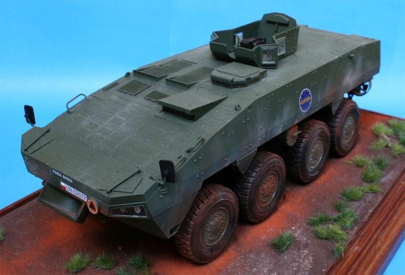 KTO ロソマク 装輪装甲車 APCプラモデル(IBG1/35 AFVモデルNo.35033)商品画像_2