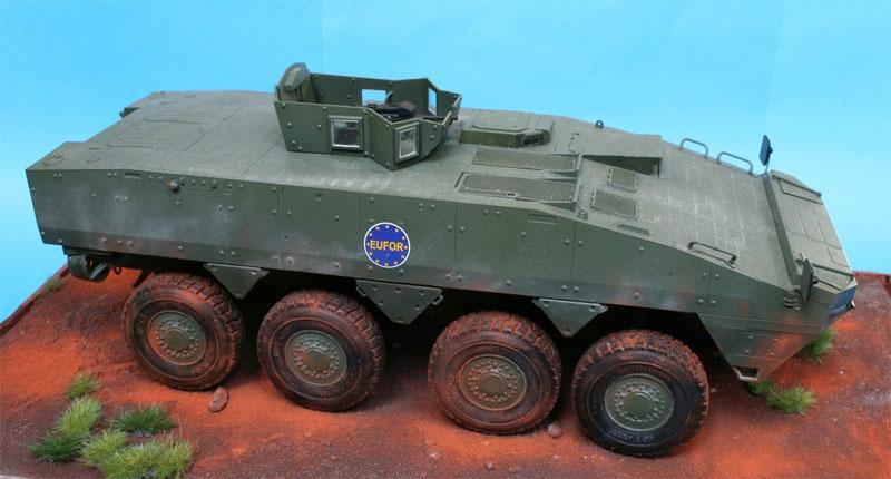 KTO ロソマク 装輪装甲車 APCプラモデル(IBG1/35 AFVモデルNo.35033)商品画像_3