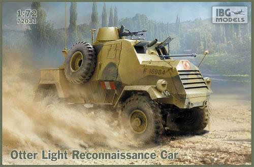 オッター 軽偵察車プラモデル(IBG1/72 AFVモデルNo.72031)商品画像
