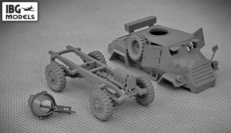 オッター 軽偵察車プラモデル(IBG1/72 AFVモデルNo.72031)商品画像_2