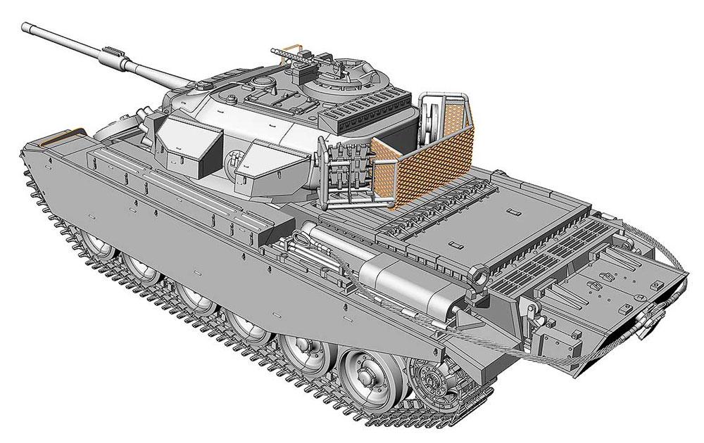 センチュリオン Mk.5LR / Mk.5/1プラモデル(エース1/72 ミリタリーNo.72428)商品画像_3