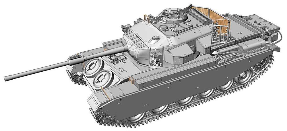 センチュリオン Mk.5LR / Mk.5/1プラモデル(エース1/72 ミリタリーNo.72428)商品画像_4
