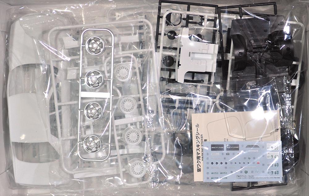 ニッサン HCR32 スカイライン GTS-t タイプM '89プラモデル(アオシマ1/24 ザ・モデルカーNo.032)商品画像_1