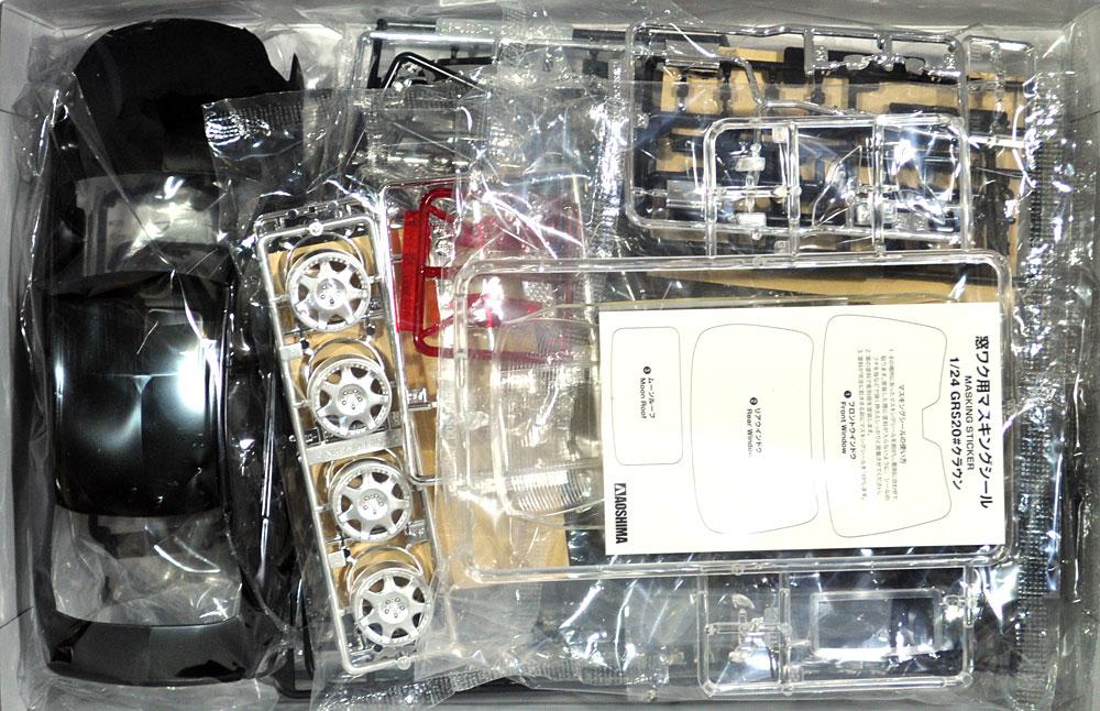 エイムゲイン GRS204 クラウン アスリート '08プラモデル(アオシマ1/24 ザ・チューンドカーNo.018)商品画像_1