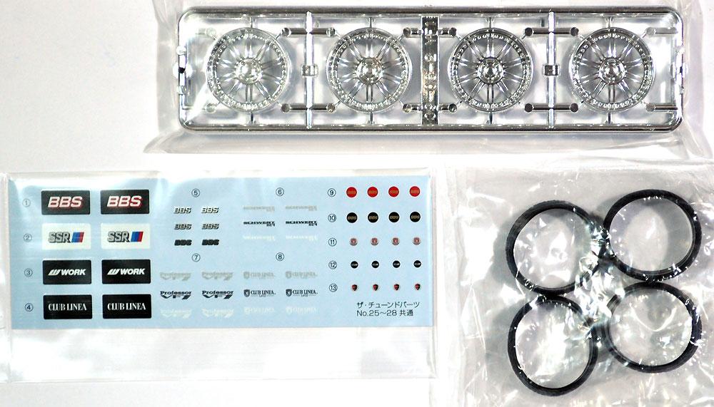 SSR プロフェッサー VF1 20インチプラモデル(アオシマザ・チューンドパーツNo.027)商品画像_1