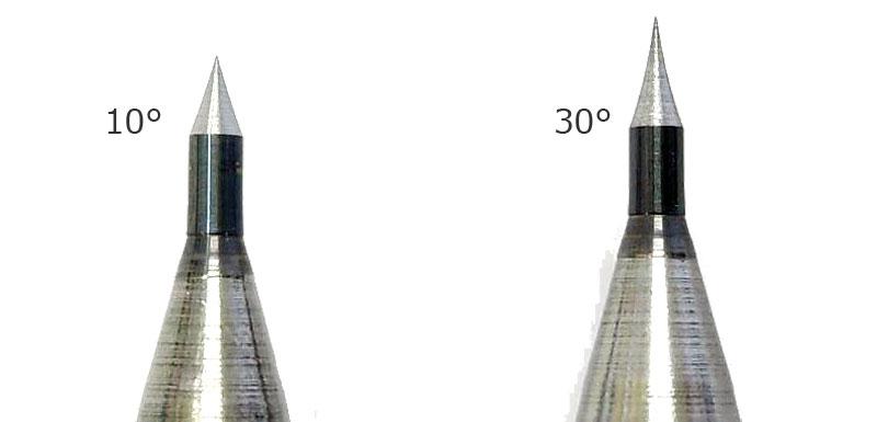 超硬けがきニードル 10°工具(ファンテック斬技 (キレワザ) シリーズNo.CN-010)商品画像_2