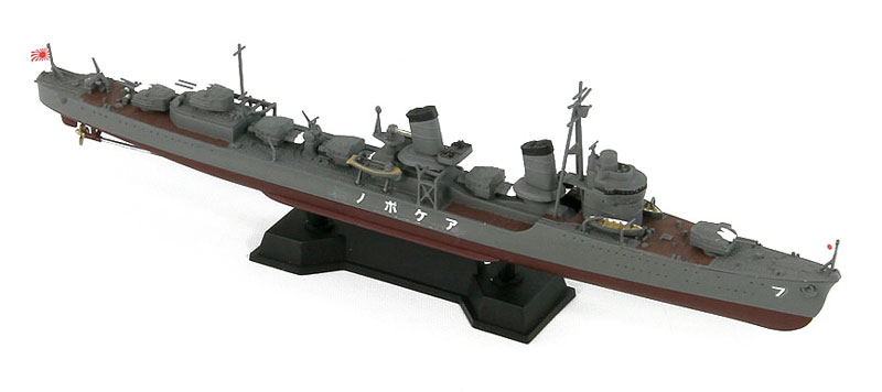 日本海軍 特型駆逐艦 曙 (新装備パーツ付)プラモデル(ピットロード1/700 スカイウェーブ W シリーズNo.SPW050)商品画像_2