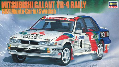 三菱 ギャラン VR-4 ラリー 1991 モンテカルロ/スウェディッシュプラモデル(ハセガワ1/24 自動車 限定生産No.20288)商品画像