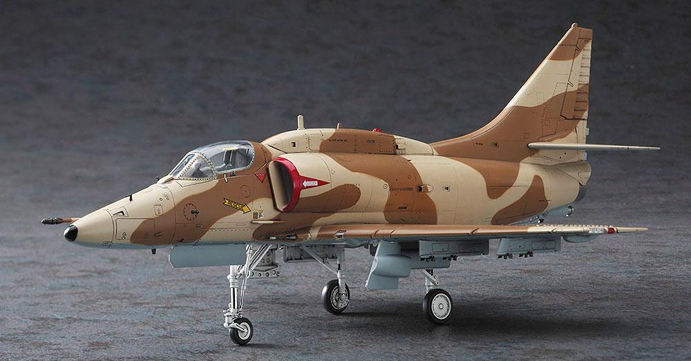 A-4M スカイホーク グレック・ゲイツ (エリア88)プラモデル(ハセガワクリエイター ワークス シリーズNo.64747)商品画像_3