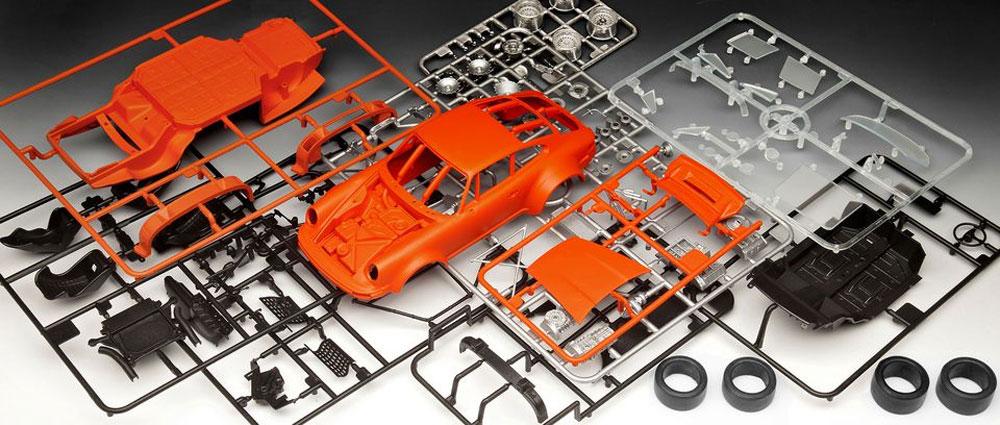 ポルシェ 934 RSR イェーガーマイスタープラモデル(レベルカーモデルNo.07031)商品画像_1