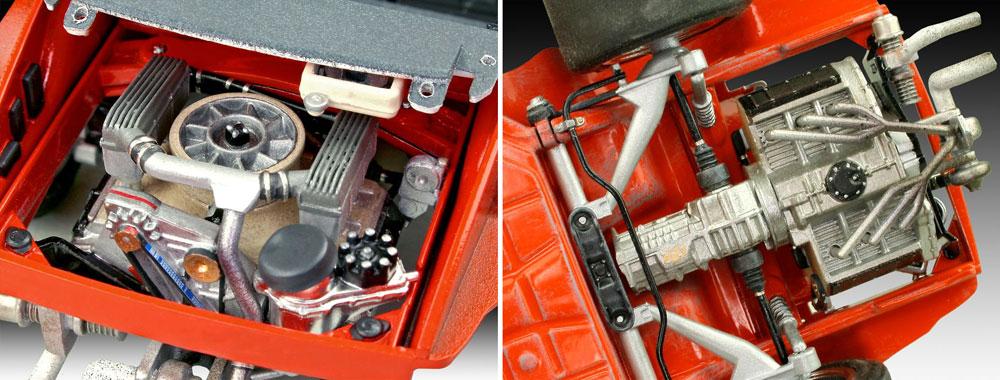 ポルシェ 934 RSR イェーガーマイスタープラモデル(レベルカーモデルNo.07031)商品画像_3