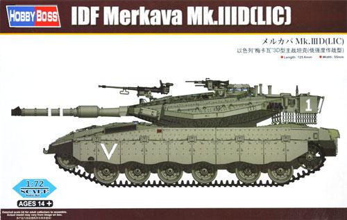 メルカバ Mk.3D (LIC)プラモデル(ホビーボス1/72 ファイティングビークル シリーズNo.82917)商品画像