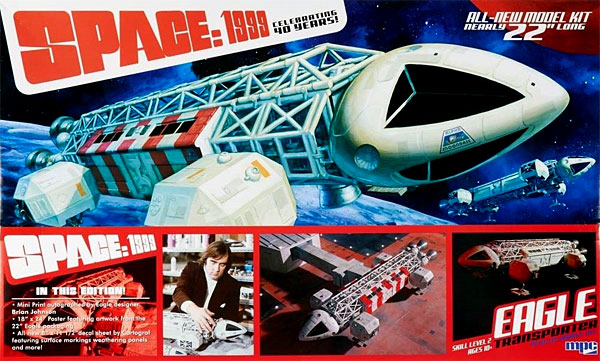 イーグル・トランスポーター スペシャルエディション (スペース 1999)プラモデル(MPCプラスチックモデルキットNo.MPC874/06)商品画像