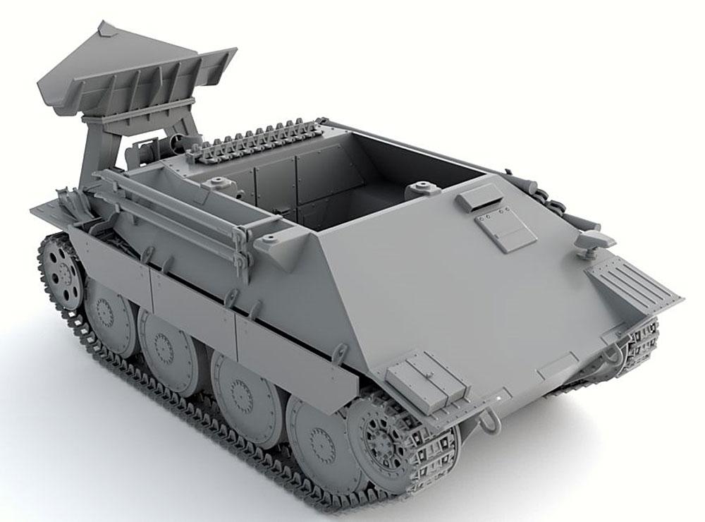 ドイツ ベルゲヘッツァー 戦車回収車 後期型プラモデル(サンダーモデルプラスチックモデルキットNo.35101)商品画像_2