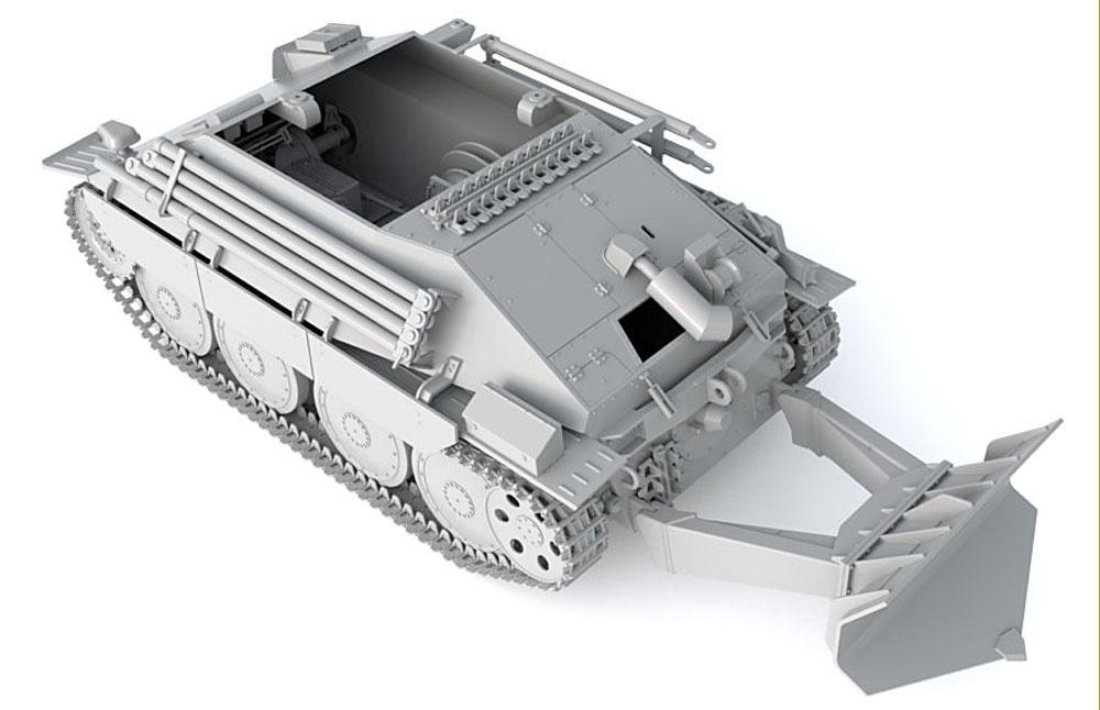 ドイツ ベルゲヘッツァー 戦車回収車 後期型プラモデル(サンダーモデルプラスチックモデルキットNo.35101)商品画像_3