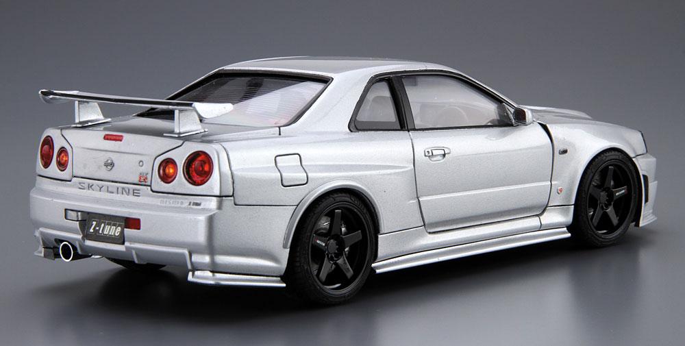 ニスモ BNR34 スカイライン GT-R Z-tune '04プラモデル(アオシマ1/24 ザ・モデルカーNo.旧034)商品画像_3
