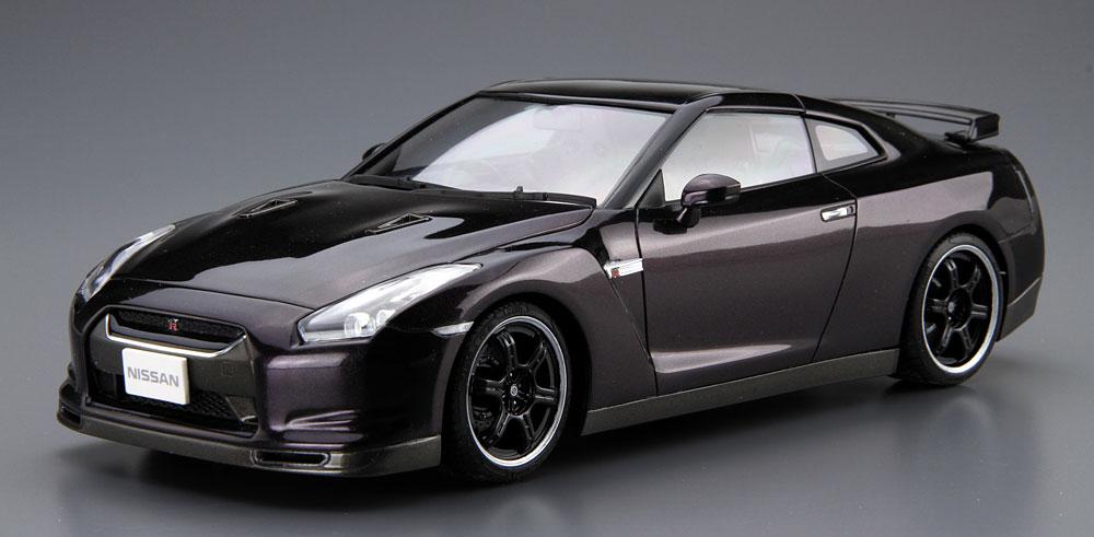 ニッサン R35 GT-R Spec-V '09プラモデル(アオシマ1/24 ザ・モデルカーNo.旧035)商品画像_2