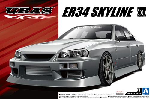 URAS ER34 スカイライン 25GT-t