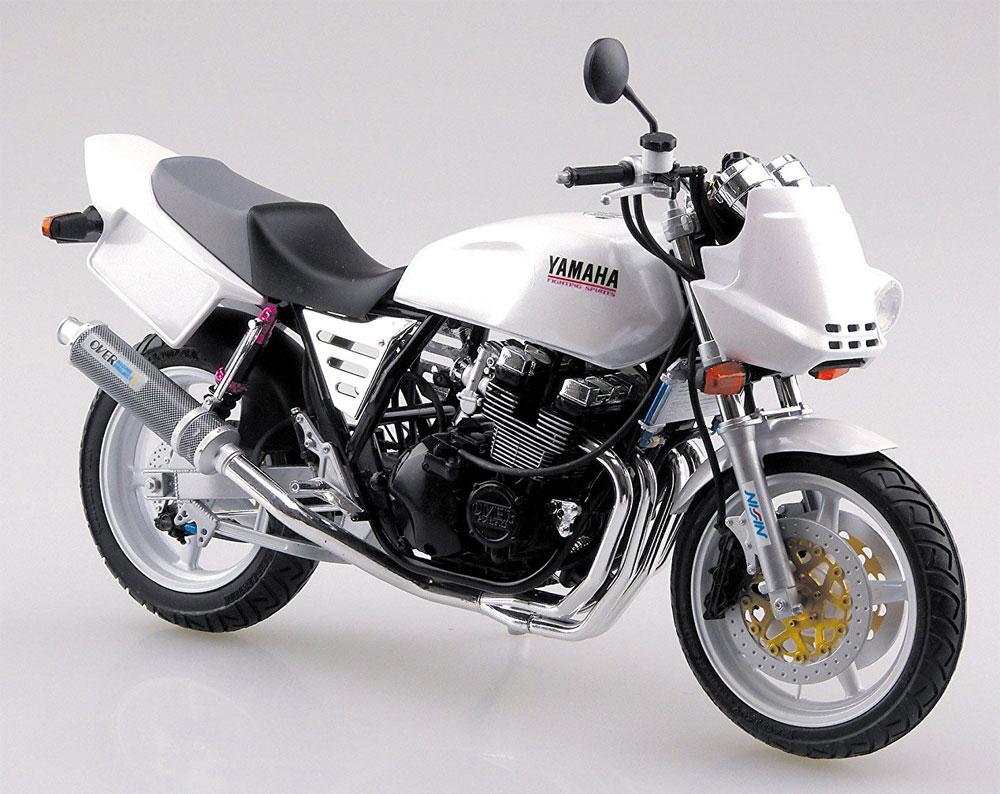 ヤマハ XJR400S 1994 カスタムパーツ付属プラモデル(アオシマ1/12 バイクNo.035)商品画像_2