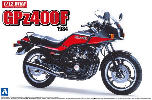 カワサキ GPz400F 1984プラモデル(アオシマ1/12 バイクNo.036)商品画像