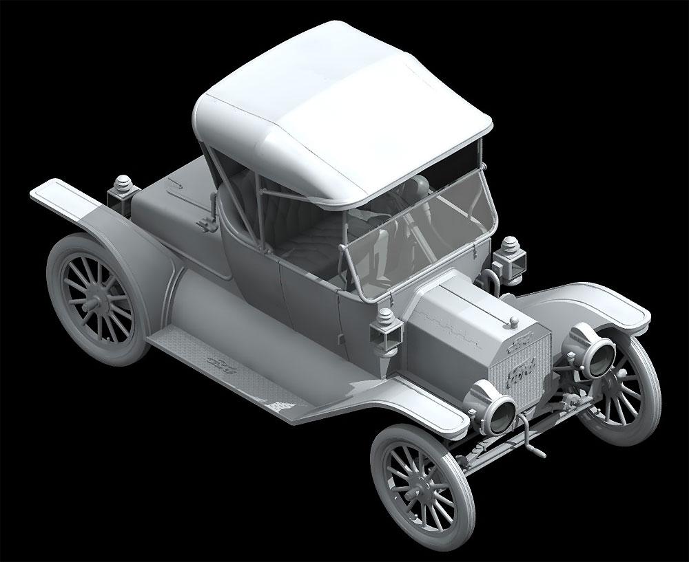 T型フォード 1913 ロードスター w/フィギュアプラモデル(ICM1/24 カーモデルNo.24007)商品画像_2