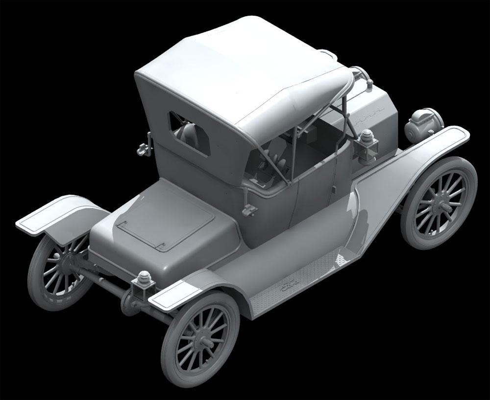 T型フォード 1913 ロードスター w/フィギュアプラモデル(ICM1/24 カーモデルNo.24007)商品画像_3
