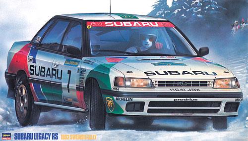 スバル レガシイ RS 1992 スウェディッシュラリープラモデル(ハセガワ1/24 自動車 限定生産No.20290)商品画像