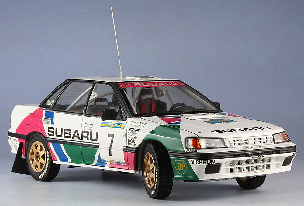 スバル レガシイ RS 1992 スウェディッシュラリープラモデル(ハセガワ1/24 自動車 限定生産No.20290)商品画像_2