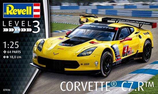 コルベット C7.Rプラモデル(レベルカーモデルNo.07036)商品画像