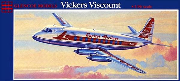 ビッカース バイカウント キャピタル航空 / BEAプラモデル(グレンコモデルプラスチックモデル組立キットNo.05501)商品画像