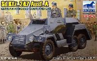 ブロンコモデル1/35 AFVモデルドイツ Sd.Kfz.247 Ausf.A 6輪装甲指揮車