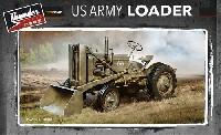 アメリカ陸軍 ホイールローダー車