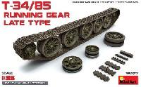 T-34/85 誘導輪・起動輪・履帯セット (後期型)