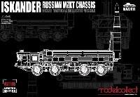 ロシア 9K720 イスカンデル M 短距離弾道ミサイル w/MZKTシャシー
