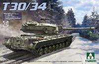 アメリカ 試作重戦車 T30/34 2 in 1