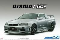 アオシマ1/24 ザ・モデルカーニスモ BNR34 スカイライン GT-R Z-tune '04